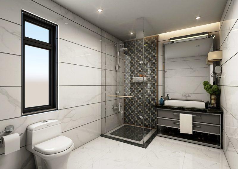 1 & 2 Bedroom Apartment Bathroom