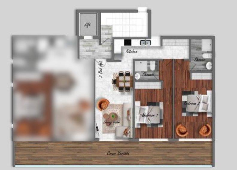 1 -2 beds plans - Copy (2)