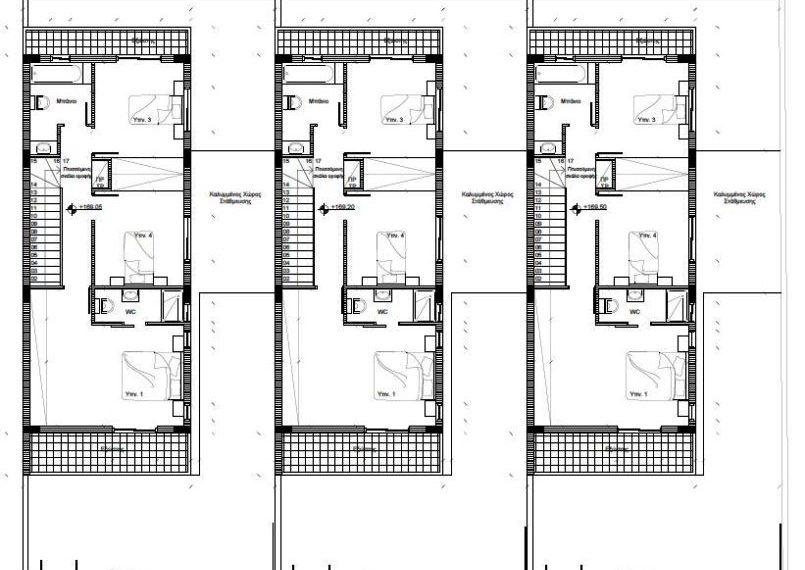 1st Floor Houses 3 4 5