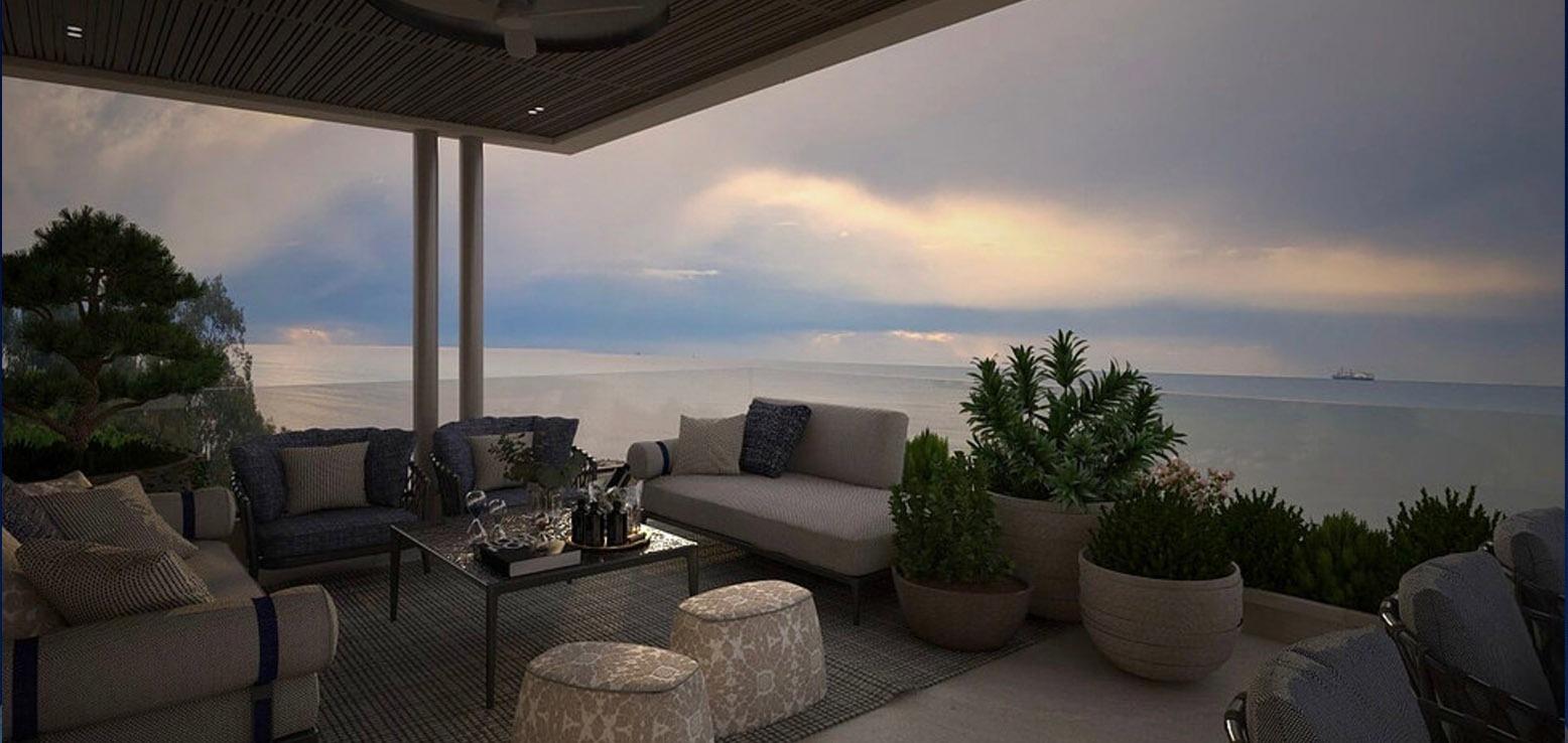 Limassol Property 3 Bedroom Beachfront Villa