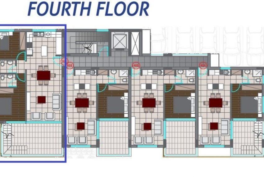 2bds - 4th floor