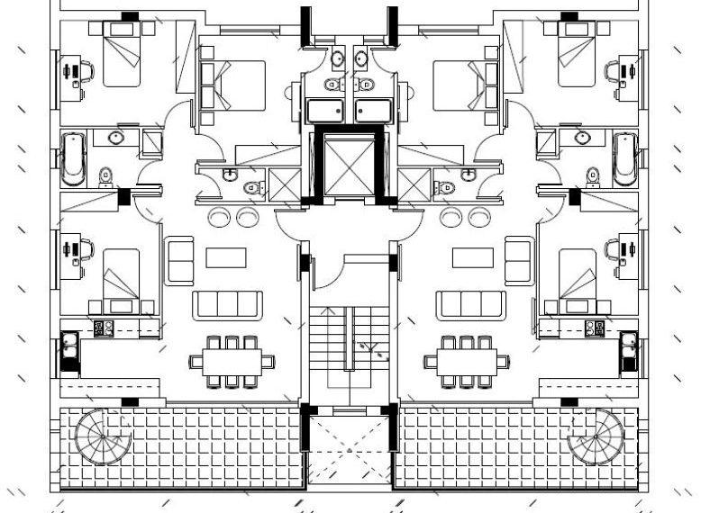 3 bds 4th floor