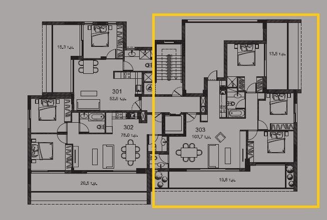 3rd floor plan - Copy