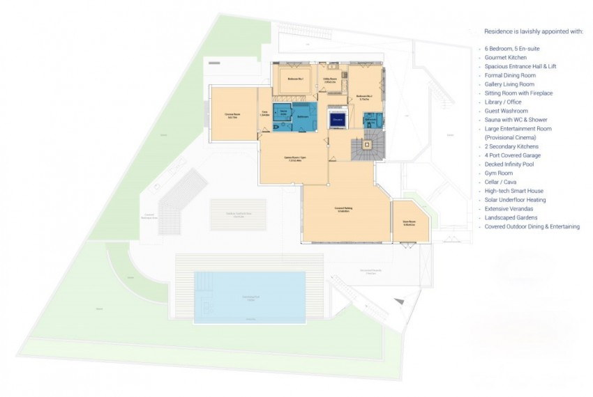 7450BASEMENT floor plan
