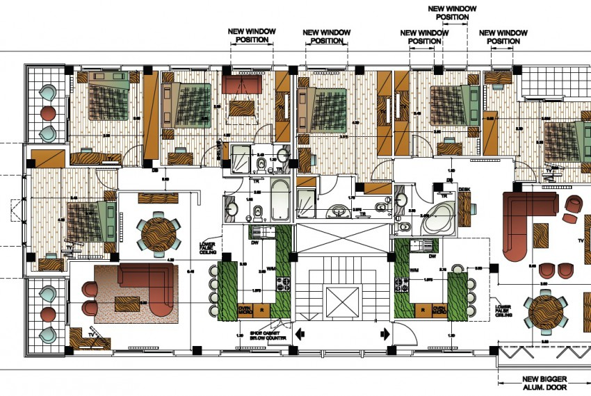 7549Typical floor layout