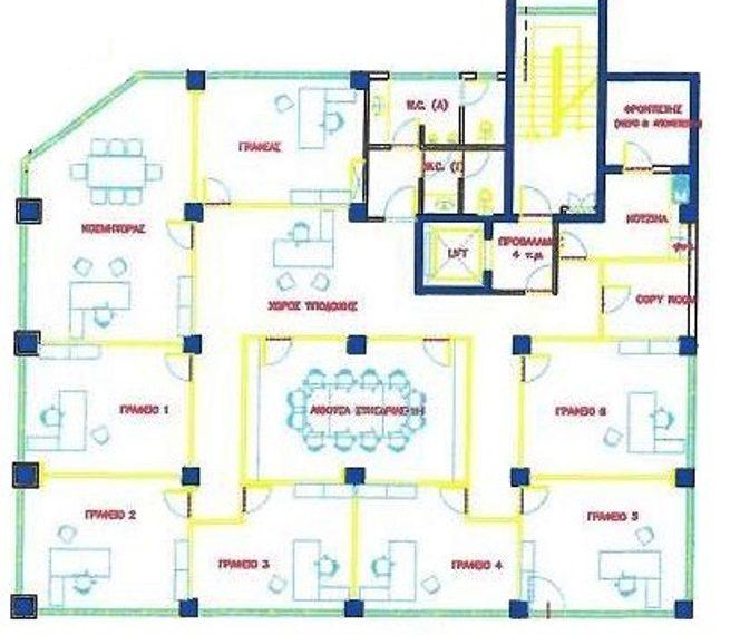 A 1st floor