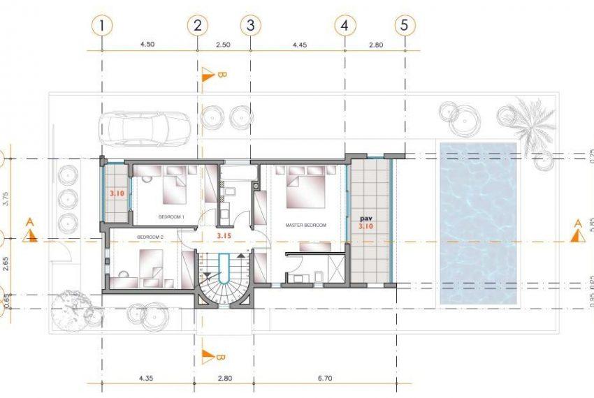 A1 2 3 Upper Fl Plan