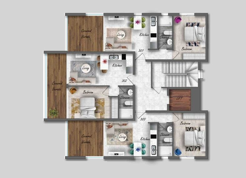 Agora Floor Plans no logo LR