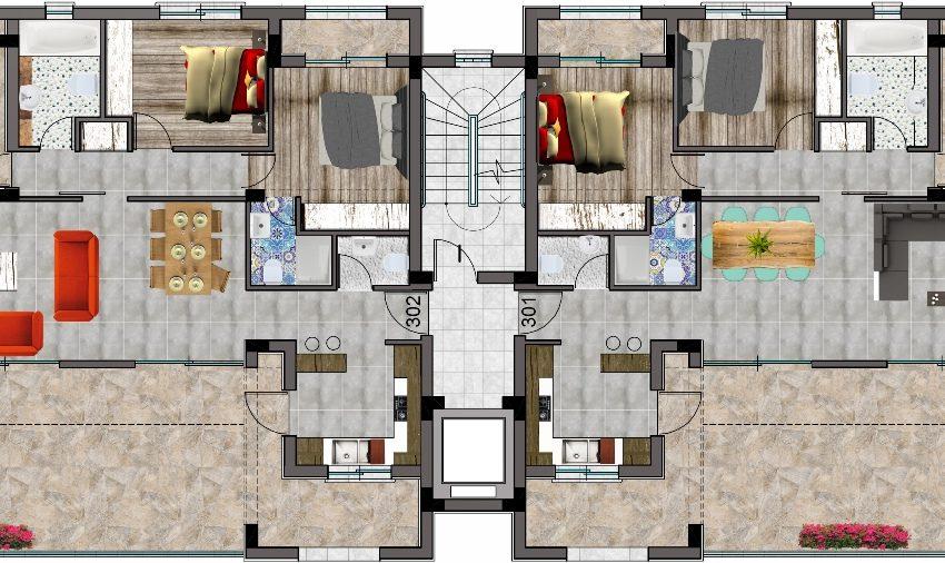 C-floor 3bed