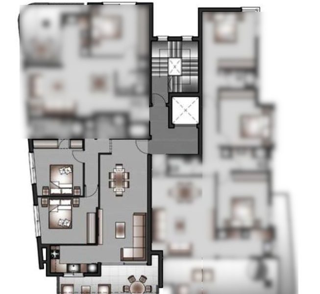 Capture 2beds 3rd floor