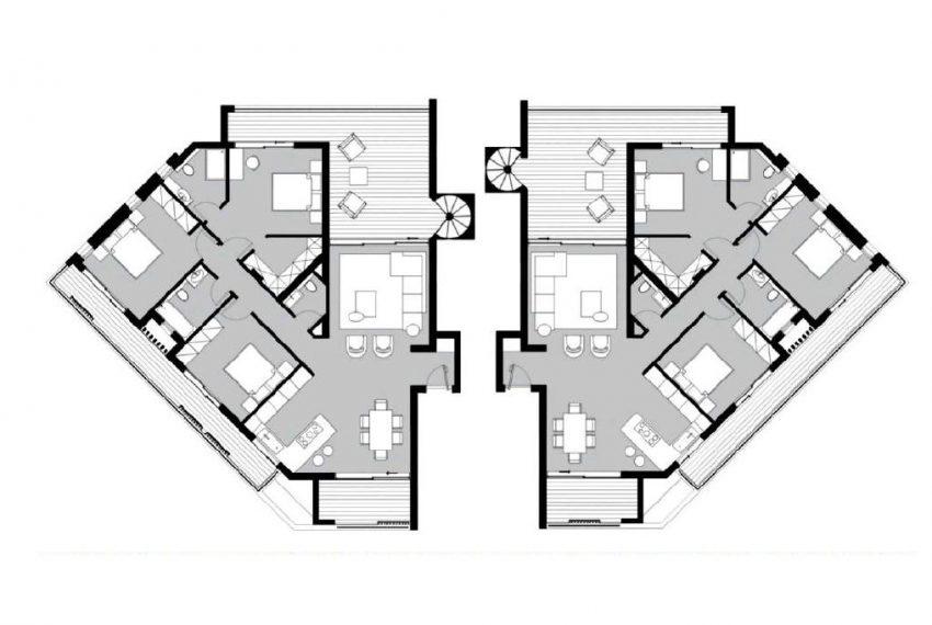 Capture Penthouse floor plan 11505