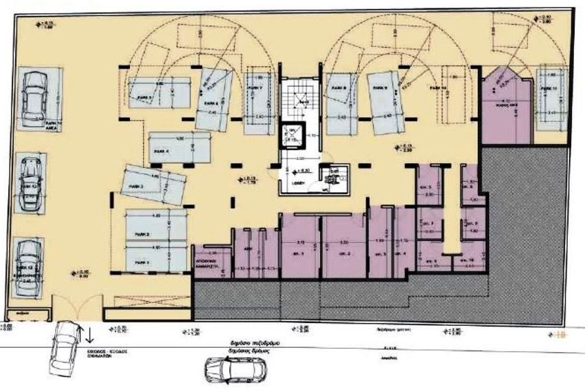 Capture basement floor plan