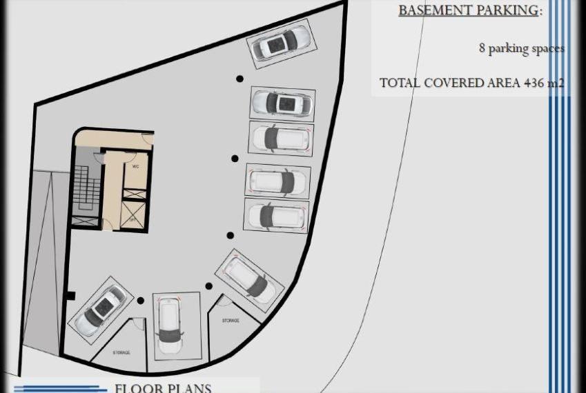 Capture basement pakring