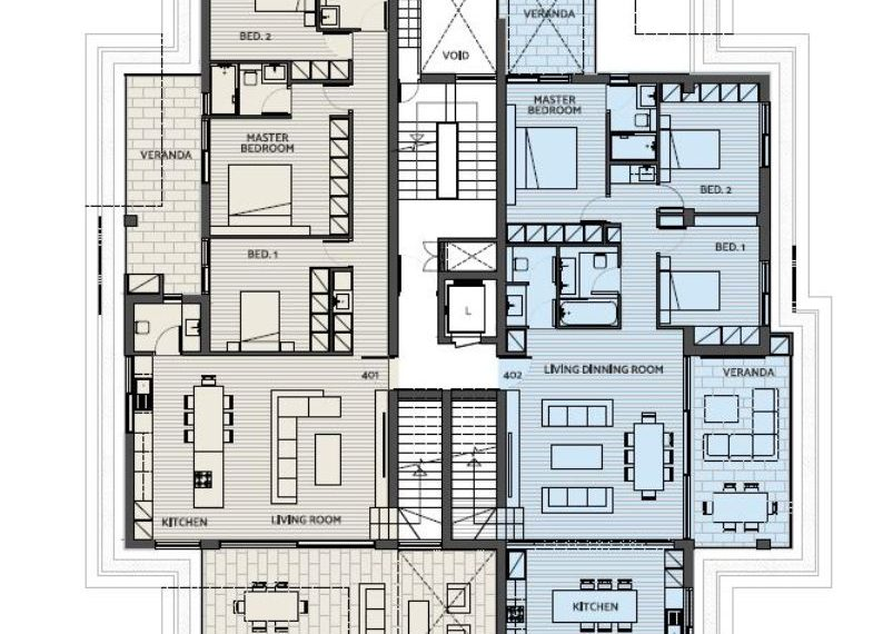 Capture plan penthouse