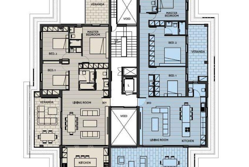Capture typical floor plan