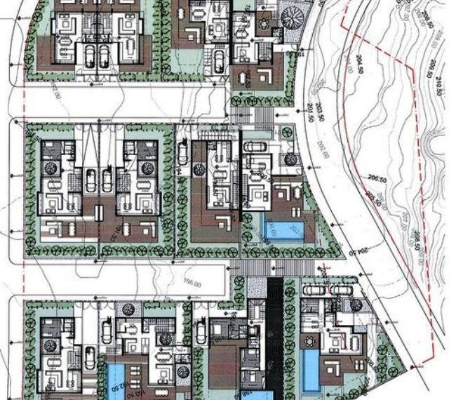 N floor plan 1-9