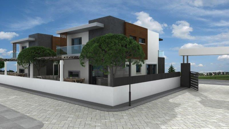 OLIVE RESIDENCE HOUSE 3 BACK VIEW