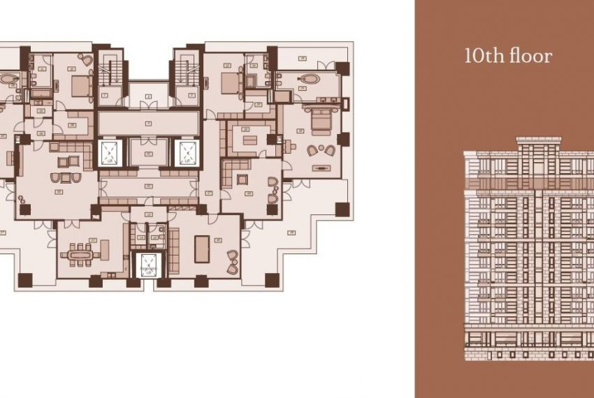 Plan 10th floor