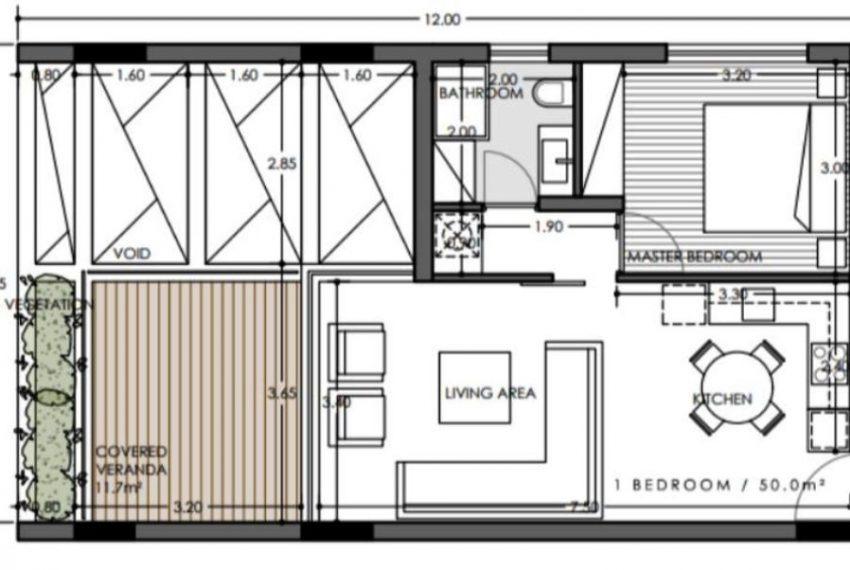 Plan 1bedroom