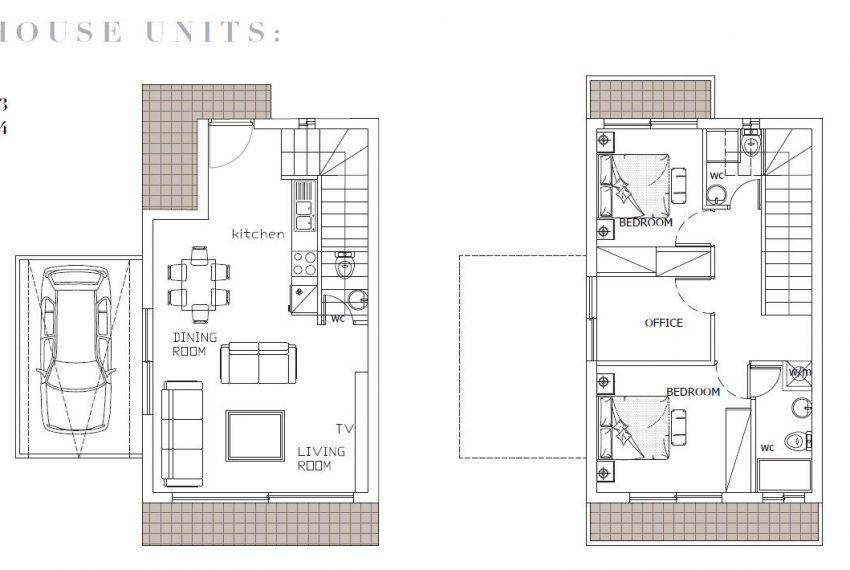 Plan houses 1 2 13 14