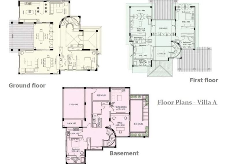 Plans Villa A