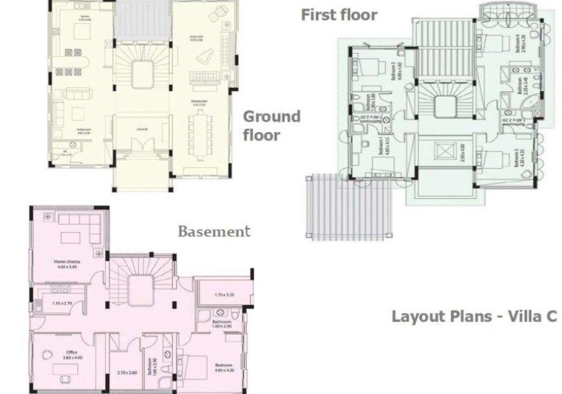 Plans Villa C