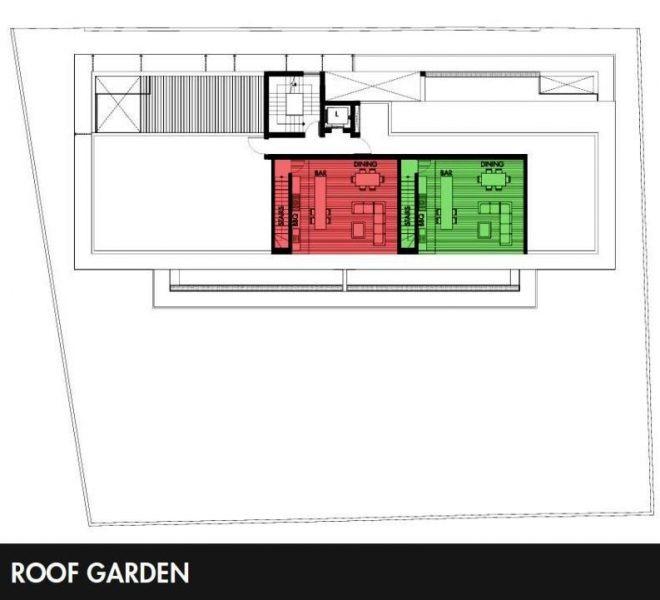 Roof garden plans
