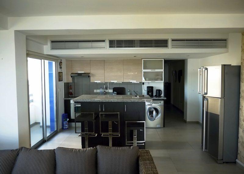 View of kitchen part