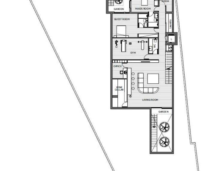 Villa 03 basement