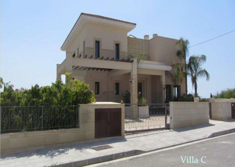 Villa C front