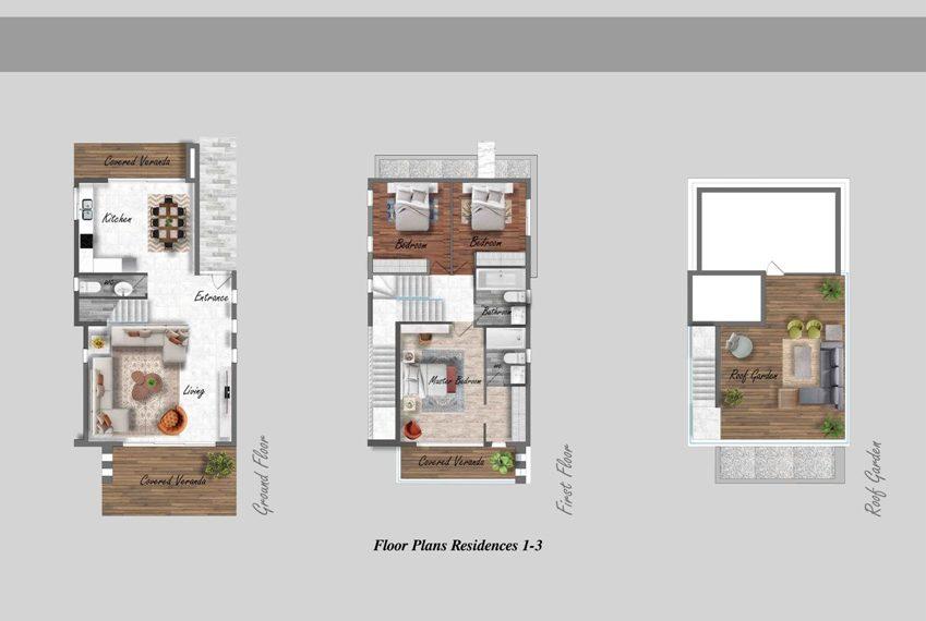 Villas Floor Plans