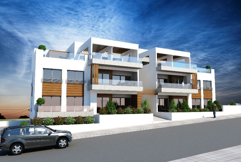 Rooms: Limassol Property Modern 2 Bedroom Apartment