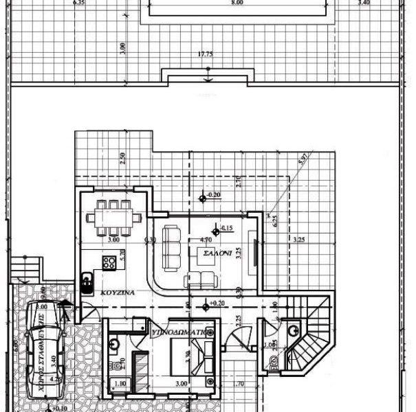 gr floor villa B 75