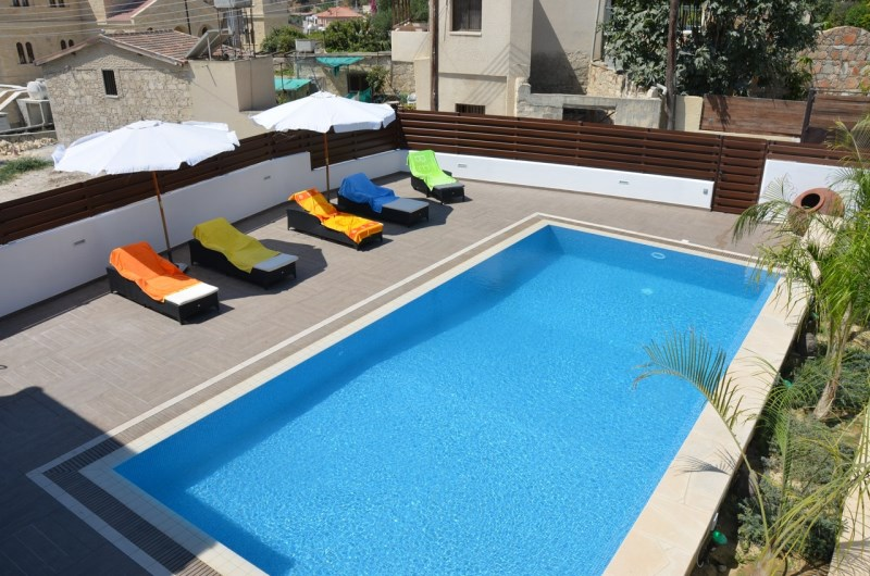 pool from top veranda