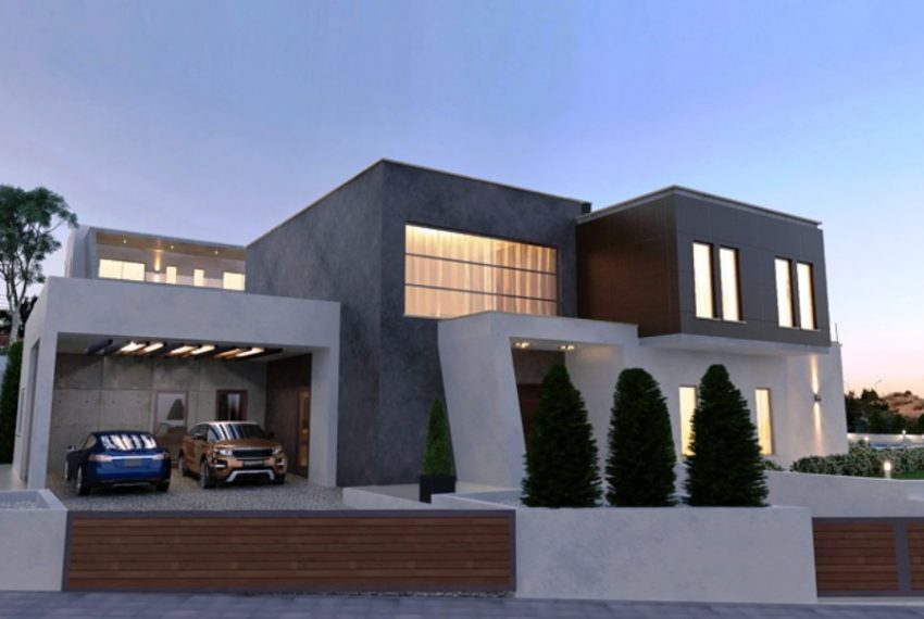 villa 1 exter parking