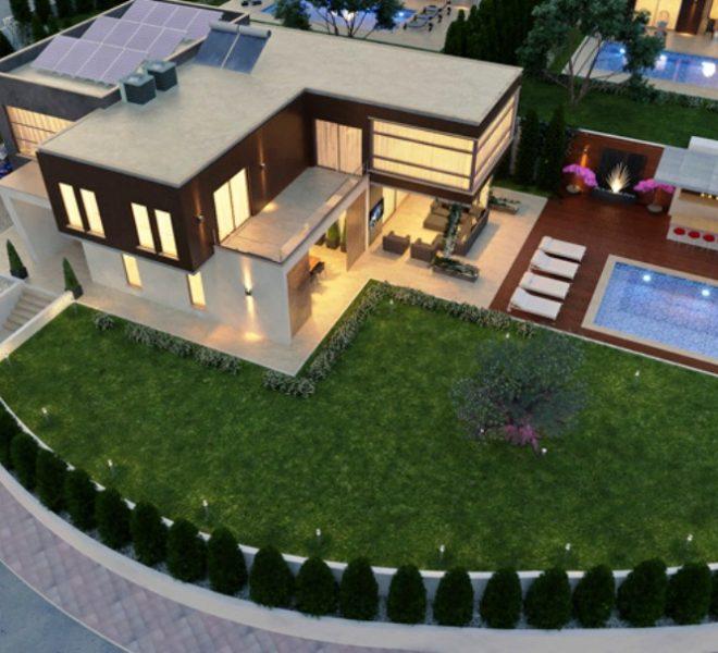 villa 1 exterior