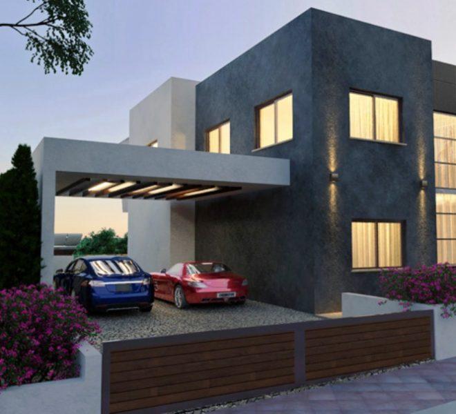 villa 2 exter parking