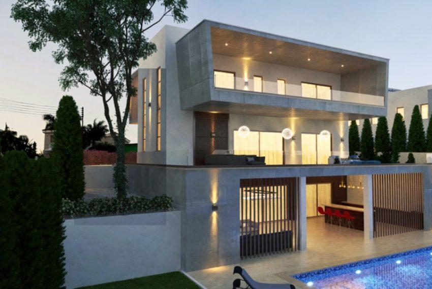 villa 2 side p view